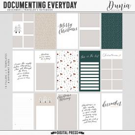 Documenting Everyday | December - Traveler's Notebook