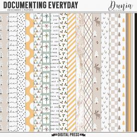 Documenting Everyday | December - Papers