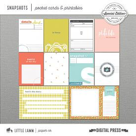 Snapshots | Pocket Cards and Printables