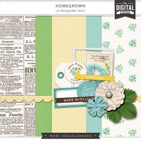 Homegrown | In the Garden Mini Kit