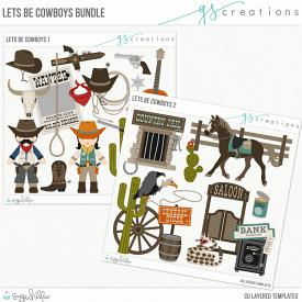 Let's Be Cowboys Bundle (CU)