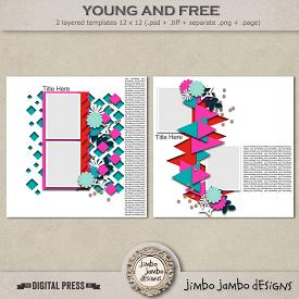 Young and free | Templates
