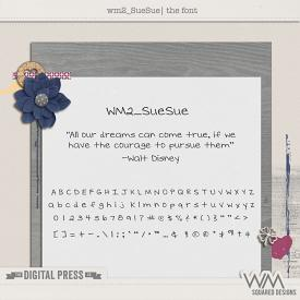 wm2_Sue Sue | The Font