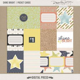 Shine Bright | Pocket Cards