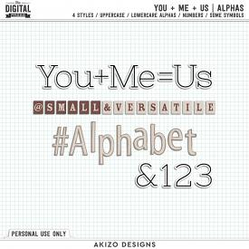 You + Me = Us | Alphas