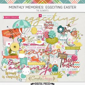 MONTHLY MEMORIES: EGGCITING EASTER  ELEMENTS