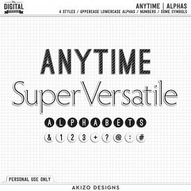 Anytime | Alphas
