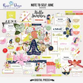 Note to Self: June | Elements