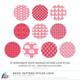 Basic Pattern Styles Love (CU)