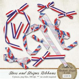 Stars and Stripes Ribbons