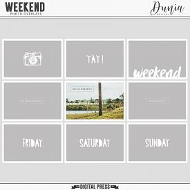 Weekend | Photo Overlays