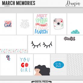 March Memories | Cards