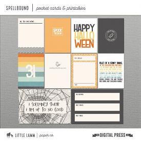 Spellbound│Pocket Cards and Printables