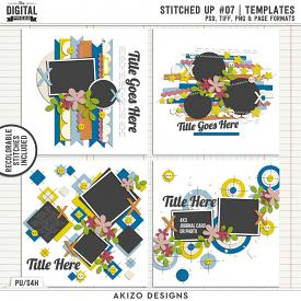 Stitched Up 07   Templates