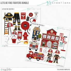 Let's Be Fire Fighters Bundle (CU)