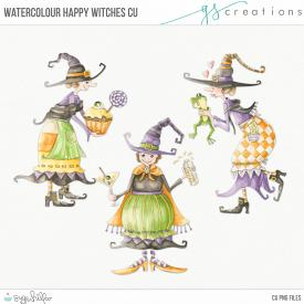 Happy Witches Watercolour (CU)