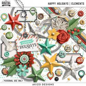 Happy Holidays | Elements
