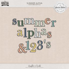 Summer | Alphas and Numbers