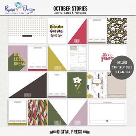 October Stories | Pocket Cards