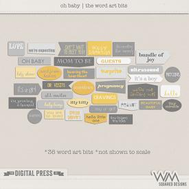 Oh Baby | The Word Art Bits