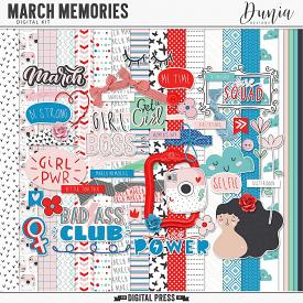 March Memories | Kit