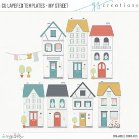 My Street Layered Templates (CU)