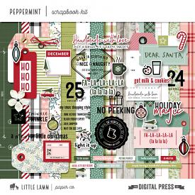 Peppermint | Scrapbook Kit