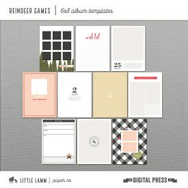 Reindeer Games | 6x8 Album Templates