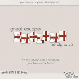 Great Escape:  England | The Alpha V.2