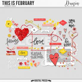 This is February | Elements