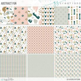Abstract Fun Layered Patterns (CU)