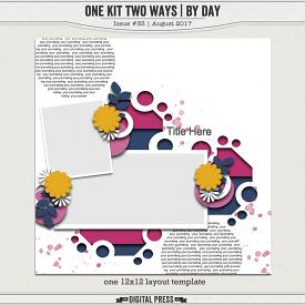 One Kit Two Ways | By Day Tempate