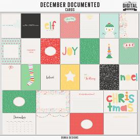 December Documented - Cards