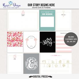 Our Story Begins Here | Pocket Cards
