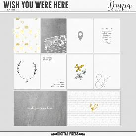Wish You Were Here | Cards