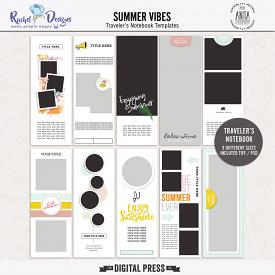 Summer Vibes - Traveler's Notebook Templates