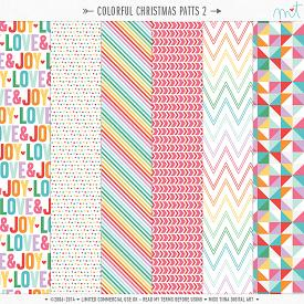 Colorful Christmas Patts 2 (CU)