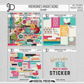 Memories Made | XOXO - Bundle