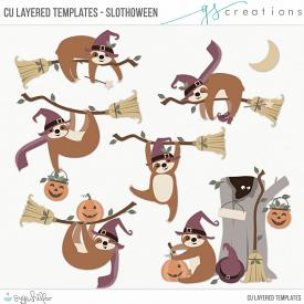 Slothoween Layered Templates (CU)