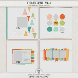 Stitched Down (Volume 4) | Templates