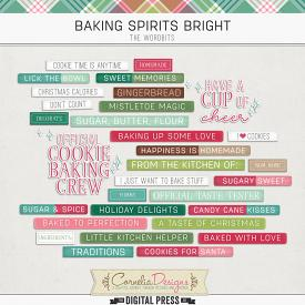 BAKING SPIRITS BRIGHT | WORDBITS