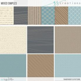 Mixed Simples Patterns (CU)