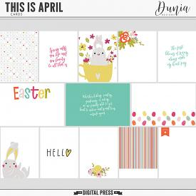 This is April | Cards