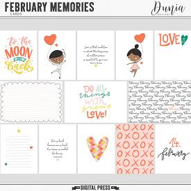 February Memories | Cards
