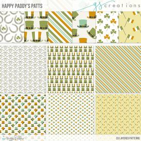 Happy Paddys Patterns (CU)