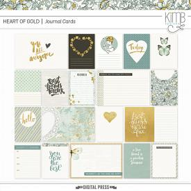 Heart of Gold : Journal Cards
