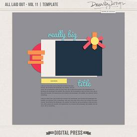 All Laid Out - Vol 11 | Template