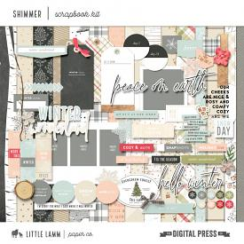 Shimmer | Scrapbook Kit