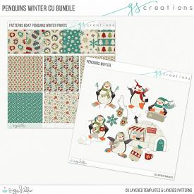 Penquins Winter Bundle (CU)