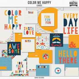 Color Me Happy - Cards